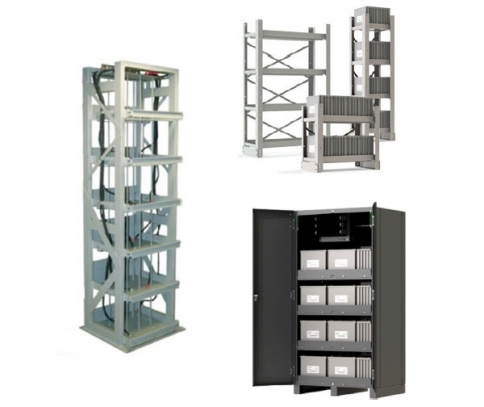 Relay Racks, Cabinets, & Conventional Seismic Racks